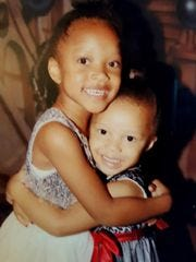 Koi Green, 5, and Kaleigh Green, 4, of Dearborn Heights,