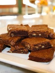 These brownies were made with Epogee by Chef Regina