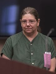 Laura McCarthy of Redford Township , is scheduled to be sentenced next week after pleading guilty to armed robbery.