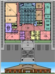 A rendering of a new Mt. Juliet Senior Activity Center