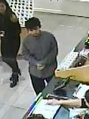 Camarillo police were seeking the public's help in identifying the suspect in a strong arm robbery.