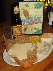 El filete frito TEXAZ Grill Chicken es una de las ofertas