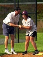 Former Scarsdale softball coach David Scagnelli will coach at Somers this spring.