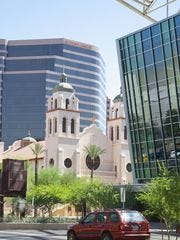 Basílica de St. Mary's en Phoenix.
