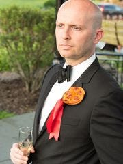 The Villa Italian Kitchen pizza boutonniere.
