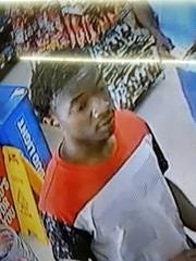 Jackson police are seeking to identify two men in connection with a Monday robbery on Whitehall Street.