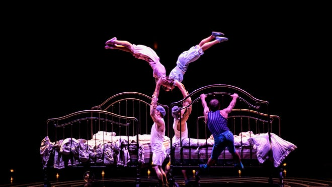 A scene from Corteo, a Cirque du Soleil production coming to Knoxville April 19-22.