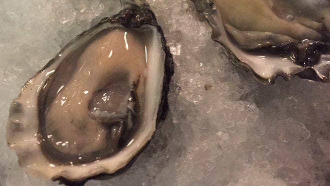 Creamy Kumomoto oysters tasted as if they were just pulled from Puget Sound at the Recess raw bar.