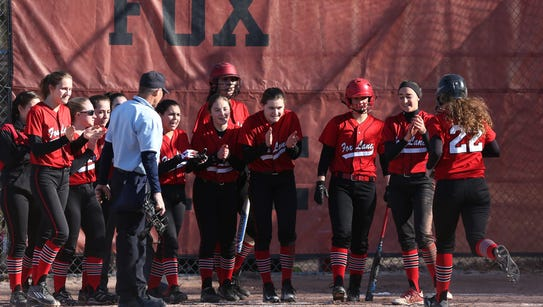 Fox Lane defeated Walter Panas 9-0 in a girls softball