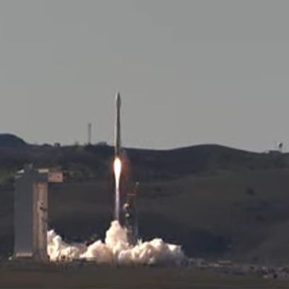 At 9:49 a.m. Pacific Time on Wednesday a United Launch