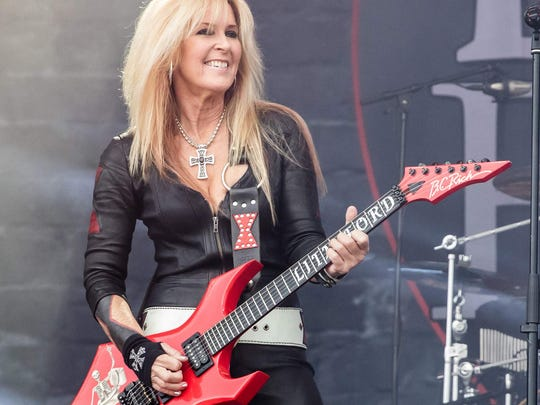 Lita Ford and her band return to the Suquamish Clearwater Casino Resort June 20.