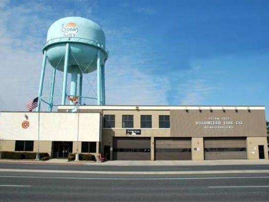 Ocean City Fire Department headquarters building at