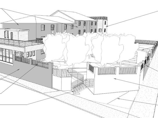 A view of the additions planned to the SoBro Guest