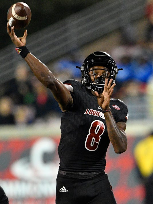 USP NCAA FOOTBALL: DUKE AT LOUISVILLE S FBC USA KY