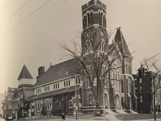 First Congregational Church was built upon the site