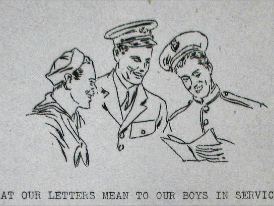 5. Boys in service Chips sketch