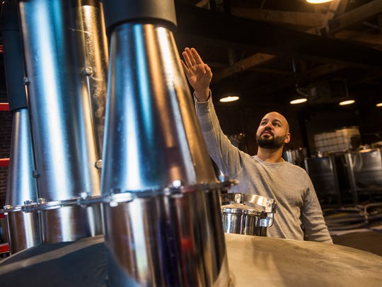 Co-owner Yianni Barakos talks about the distilling
