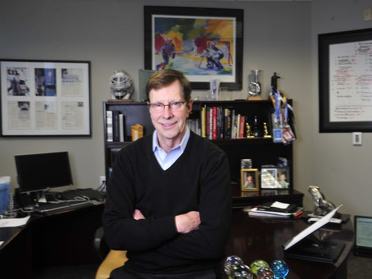David Poile is the only general manager the Predators have had. The winningest GM in NHL history, Poile will be inducted into the United States Hockey Hall of Fame on Wednesday.