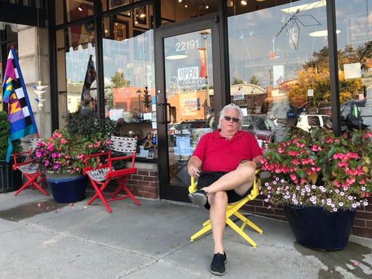 Tom Clark, owner of Village Picture Framing & Art Gallery