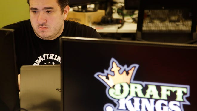 DraftKings, a daily fantasy sports company, has stepped up its lobbying. (Stephan Savoia/AP)