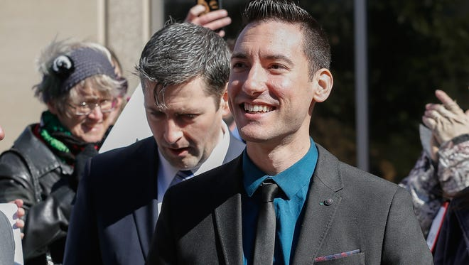 David Daleiden is one of the two anti-abortion activists charged with invading the privacy of medical providers by filming without consent.