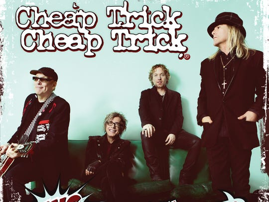 Cheap Trick's new album is called 'Bang, Zoom, Crazy...Hello'