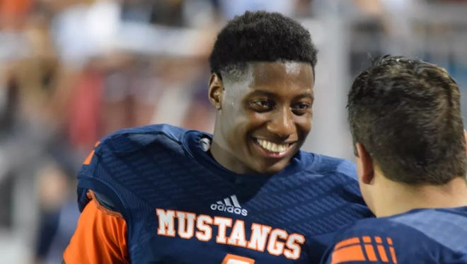 Jalen Mayden, a dual-threat Texas QB, is a big target for Mississippi State.