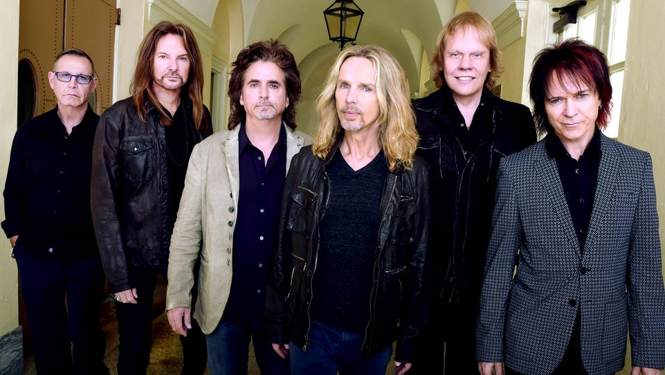 Styx is set to perform Thursday at the Montgomery Performing