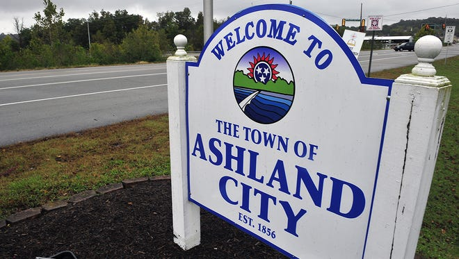 The town of Ashland City.