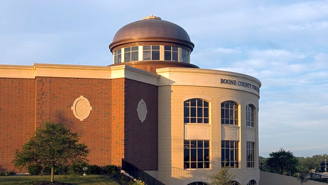 The Main Branch of the Boone County Public Library in Burlington.