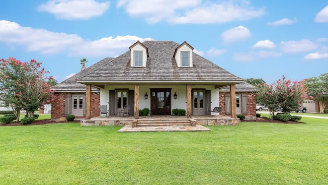The 5 bedroom, 3 1/2 bath home is located at 1806 Bonin Road in Youngsville. It is listed at $1,725,000.