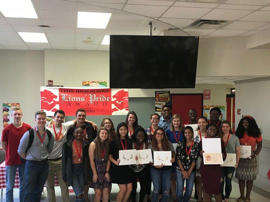 The Lions' Pride Awards program at Leon High School is an annual award based on varying criteria including; classroom leadership, exemplary conduct, and a student's determination to succeed.