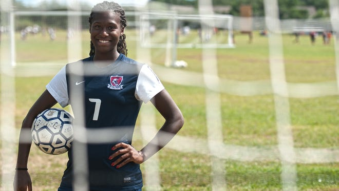 Eastern's Amirah Ali was invited to recently work out with the U.S. Under-18 national team in San Diego, Ca.
