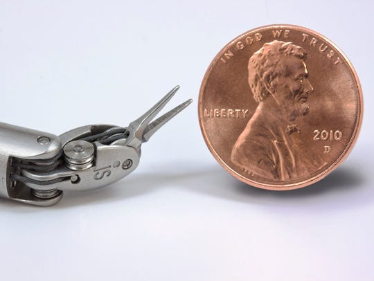The tiny instruments that make up the da Vinci Systems