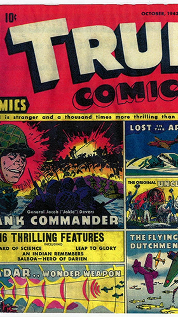 York-native Gen. Jacob Loucks Devers made the comics pages in 1942. He was then a rising star in the U.S. ARmy.