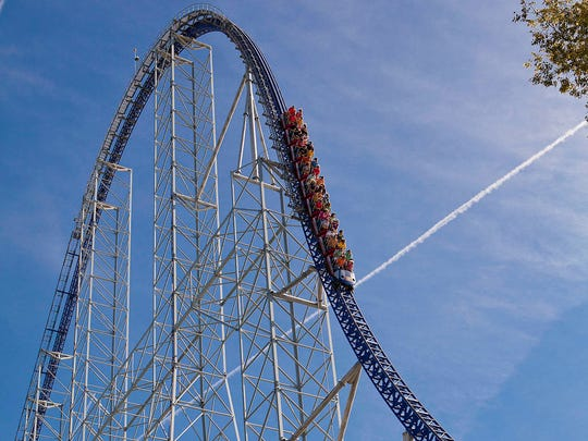 Millennium Force at Cedar Point is rated the top steel coaster in the world.