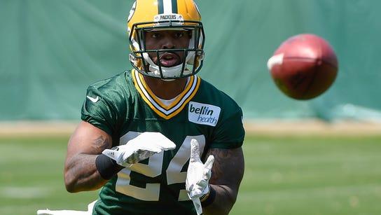 Green Bay Packers cornerback Quinten Rollins.