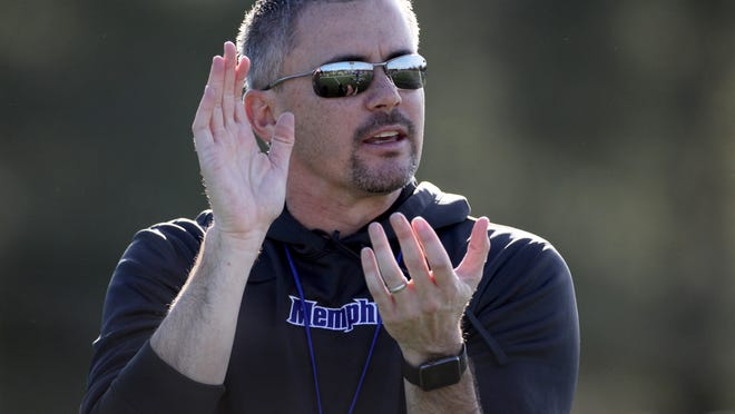 University of Memphis football coach Mike Norvell worked with SMU coach Chad Morris at Tulsa.
