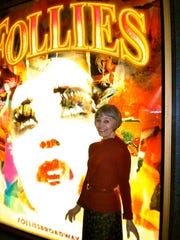 Susan Watson in 2011 during the Broadway production of 'Follies'.