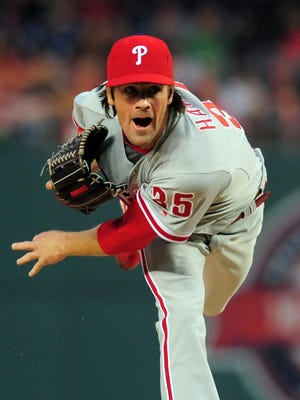 Cole Hamels yielded a 1.91 ERA in 23 starts after May last year and has a career 47-33 record and 2.93 ERA after the All-Star break.