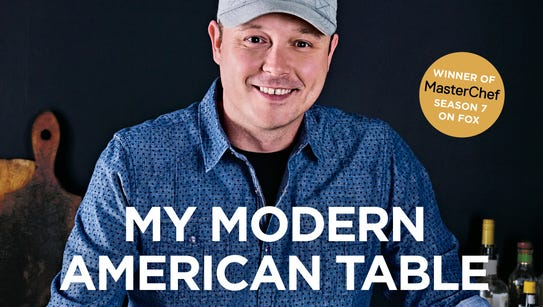 "Shaun O'Neale's cookbook ""My Modern American Table"""