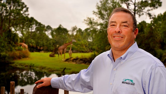 Keith Winsten, executive director of the Brevard Zoo.