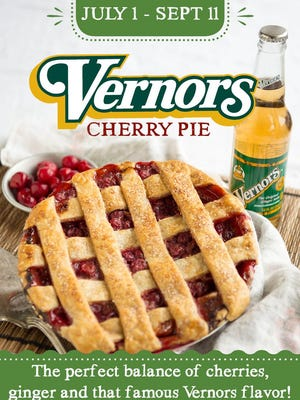 Cherry pie flavored with Vernors.