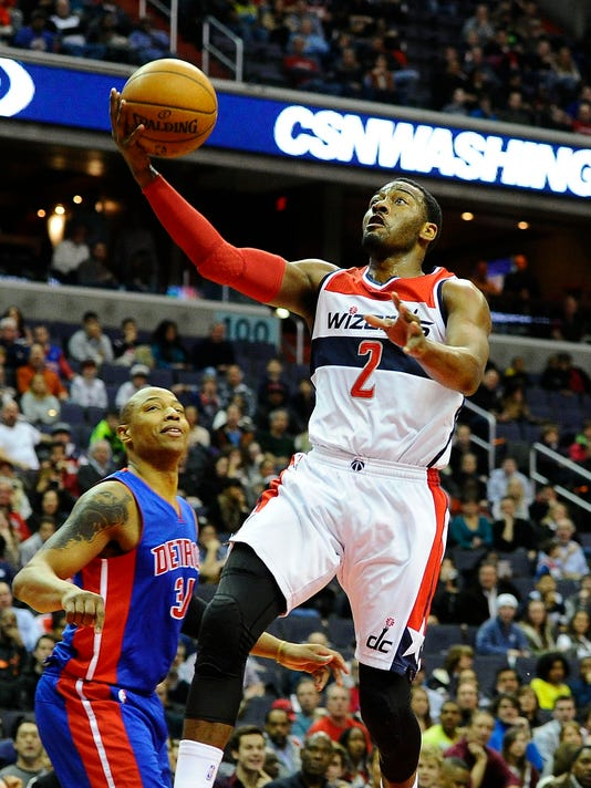 88afbbc589e Wizards top Pistons to end slide as starters return