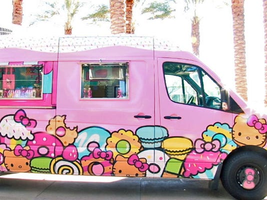 Hello Kitty Truck