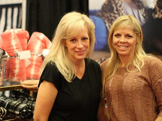 Mary Burkinshaw and Tracey Simas, friends for 20 years, said deciding to start a blanket business was spirit-led.