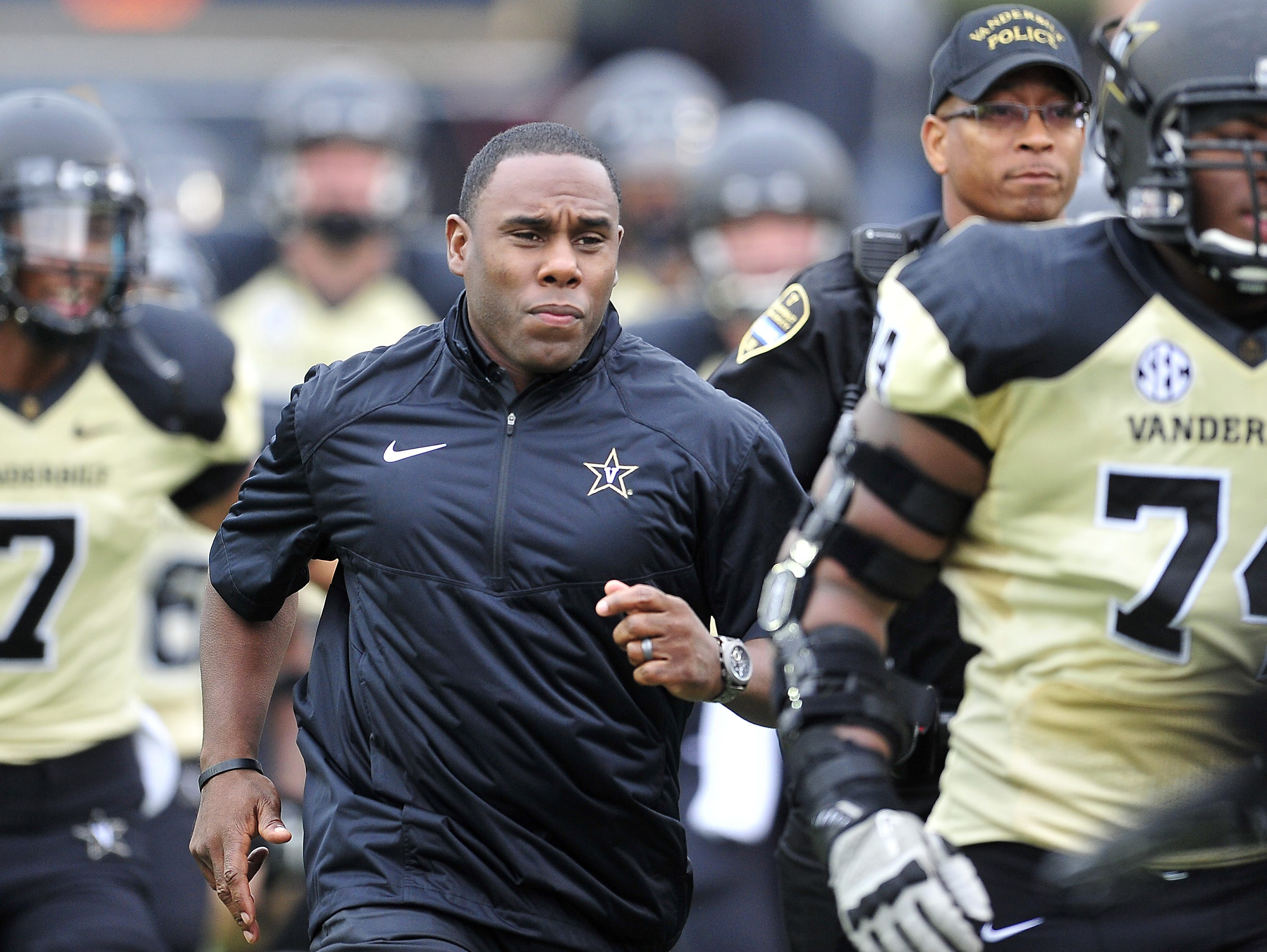 Vanderbilt coach Derek Mason said he's not placing special significance on Saturday's game at MTSU.