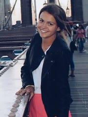 Natalie Clark, from Mesa Mountain View High School,