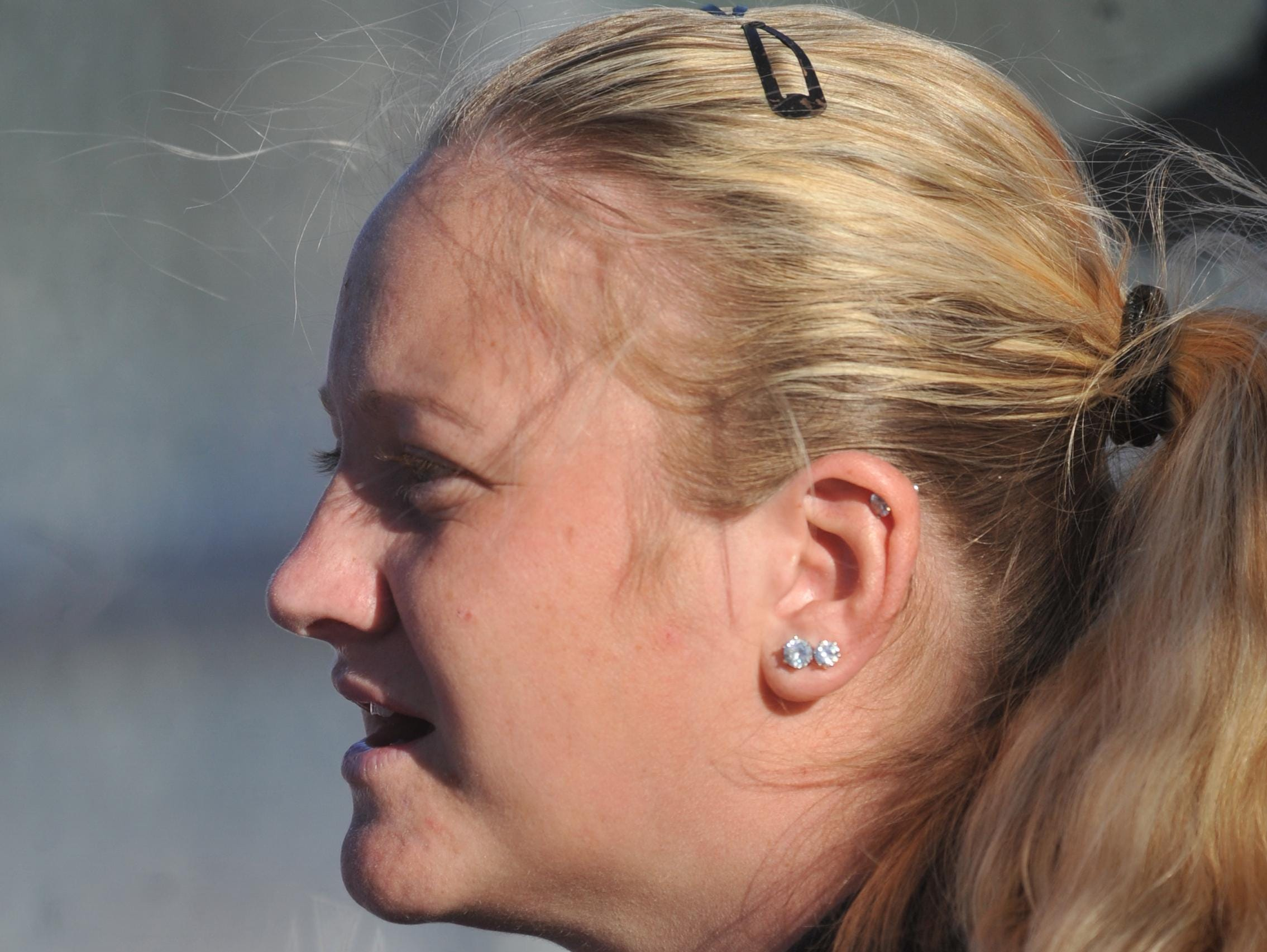 Courtney Ecker, a Centerville graduate and former Bulldog assistant coach, is in her first season leading Hagerstown's tennis team. She'll coach for the first time against her father, Randy, on Thursday.