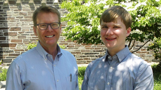"Wausau native Michael Stokes Paulsen, left, and his son Luke Paulsen are co-authors of ""The Constitution: An Introduction."""